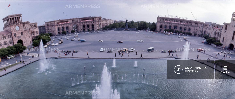 Երևանյան համայնապատկեր. Լենինի հրապարակ