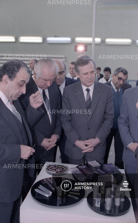 Նիկոլայ Ռիժկովի այցը Երևան