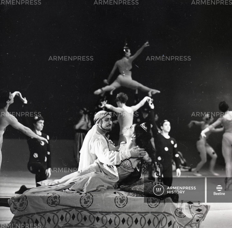 Հատված Սպենդիարյանի բալետից