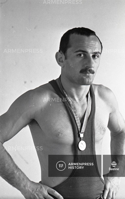 Ազատ ոճի ըմբշամարտի աշխարհի չեմպիոն Գուրգեն Բաղդասարյան