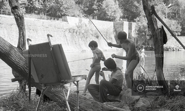 Ձկնորսություն Հրազդան գետում