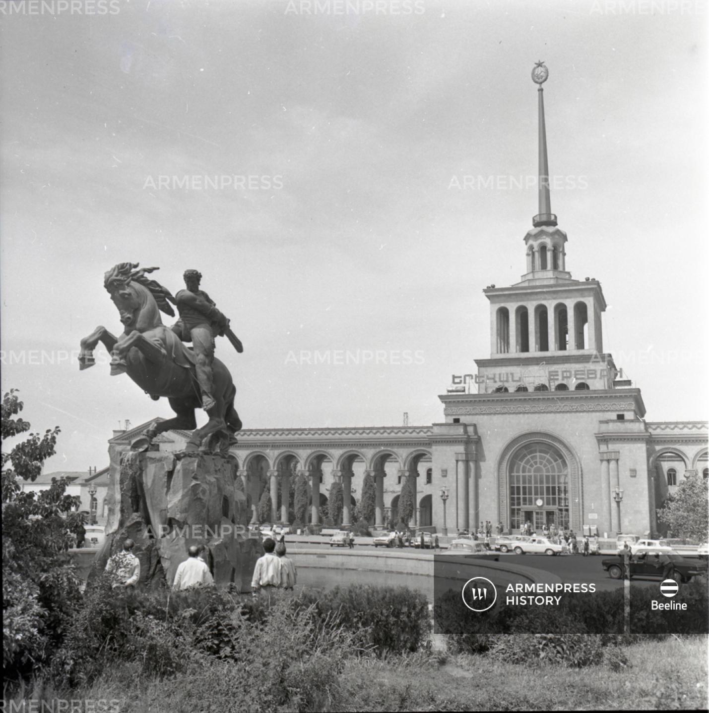 Երևանի երկաթուղային կայարանը