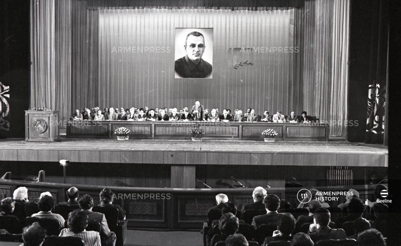 Ալեքսանդր Մյասնիկյանի 100-ամյակին նվիրված միջոցառում
