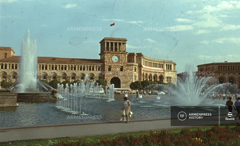 Երևանի Լենինի հրապարակը