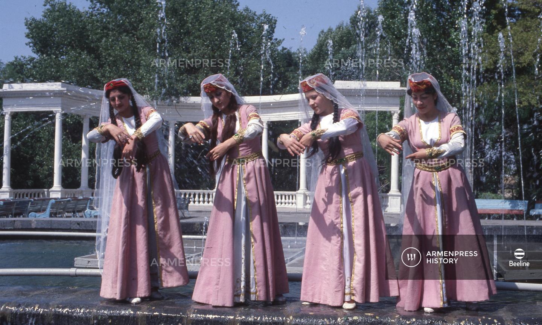 Սևյանի անվան մշակութային պալատի պարի անսամբլը