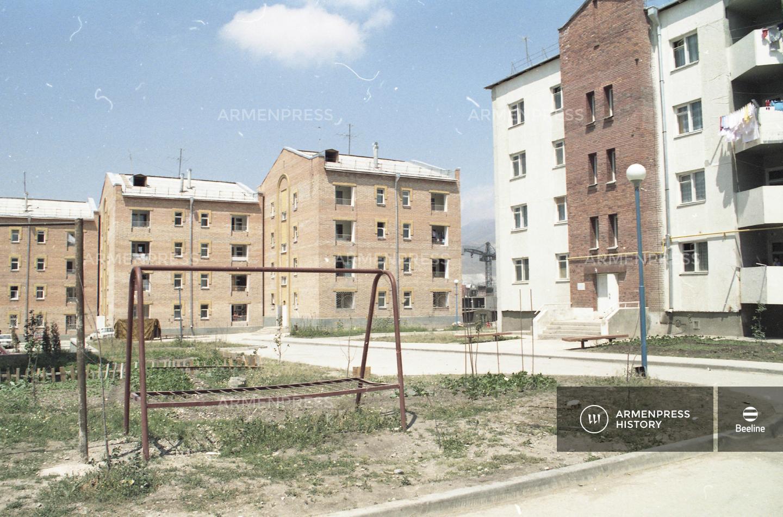 Լենինականի նորակառույց շենքերը