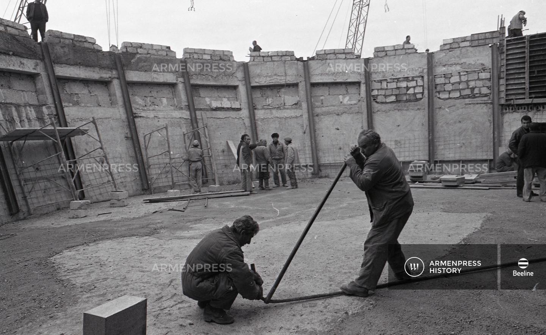 Հայոց ցեղասպանության թանգարանի կառուցումը