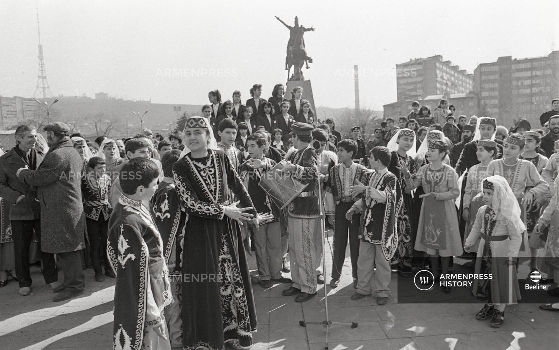 Վարդանանց տոնը Երևանում
