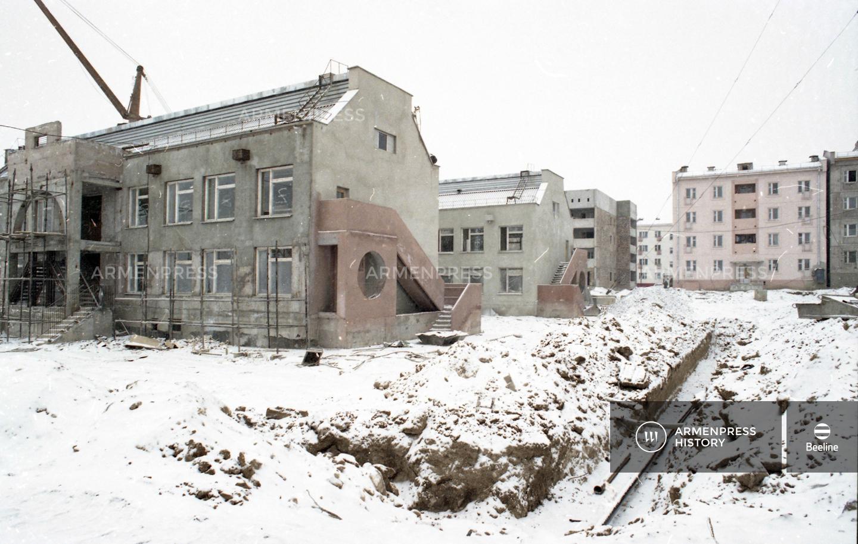 Լենինականի «Անի» թաղամասի կառուցումը
