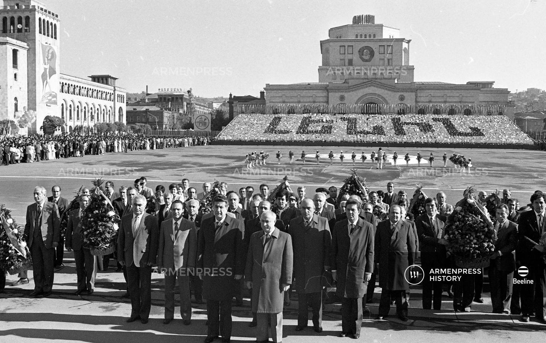 Հայաստանի ղեկավարությունն «Էրեբունի-Երևան» տոնակատարությանը