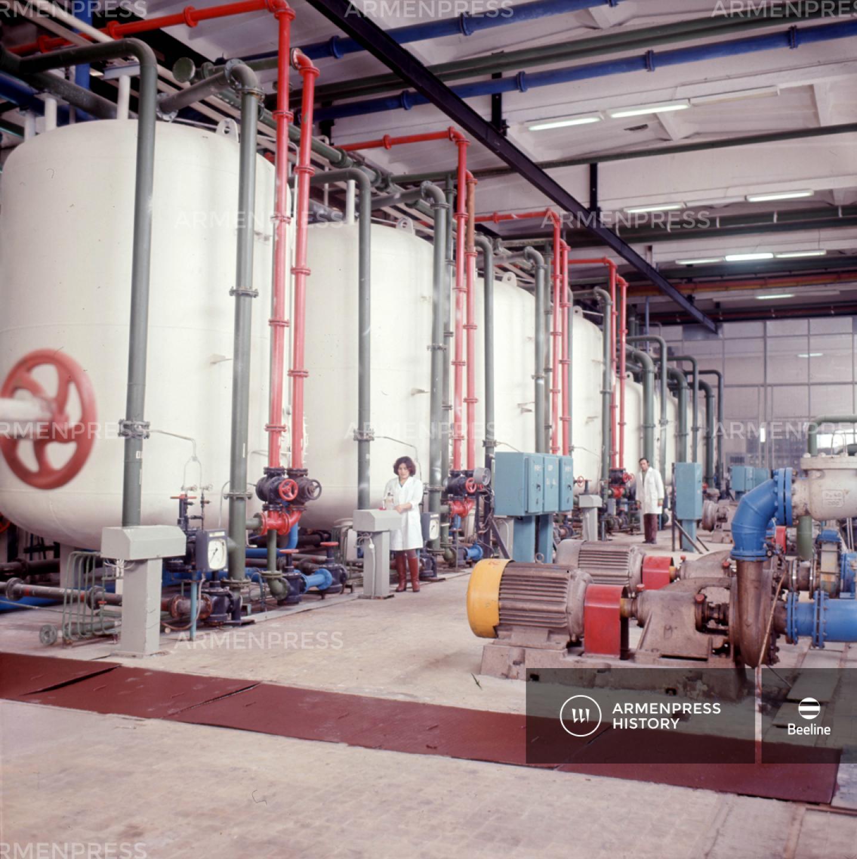 Հայկական ատոմային էլեկտրակայանի քիմիական մասը